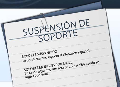 Suspensión de soporte